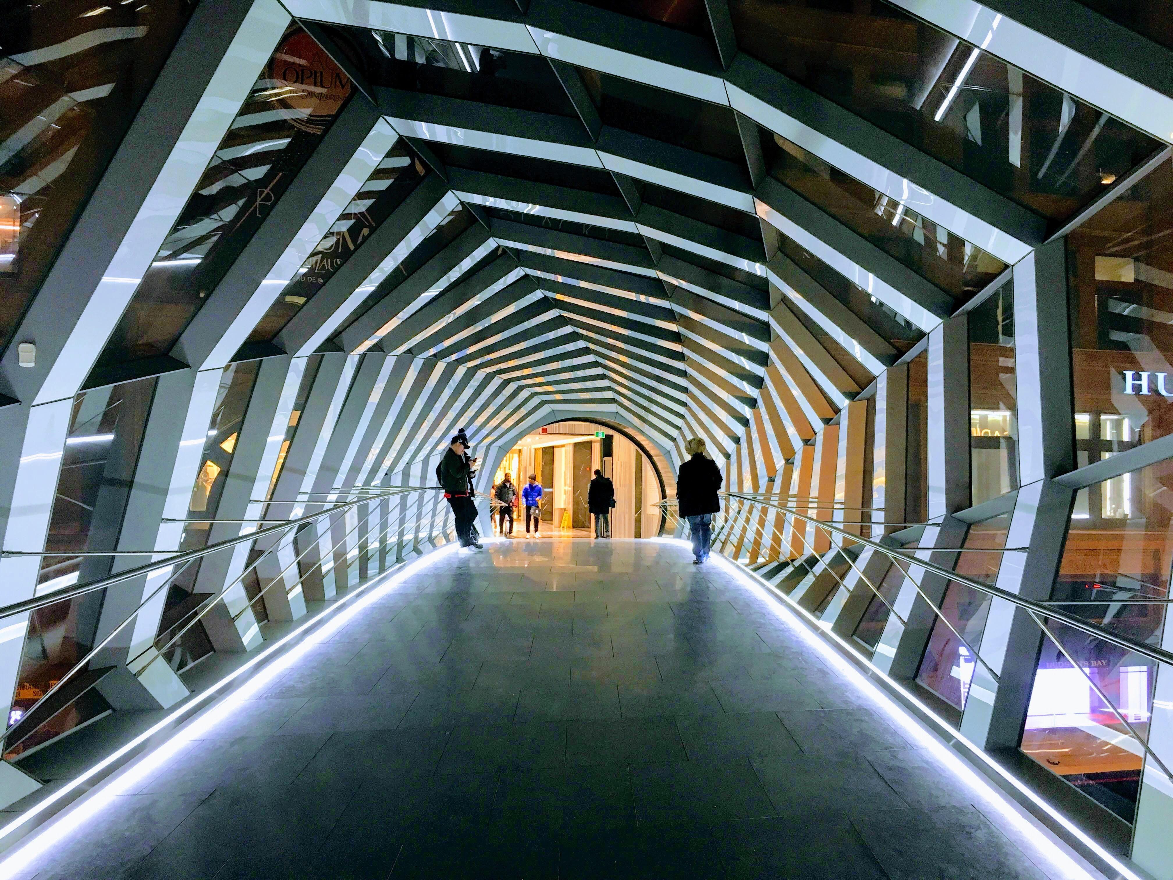 CF Toronto Eaton Centre Skywalk - Toronto, Ontario, Canada