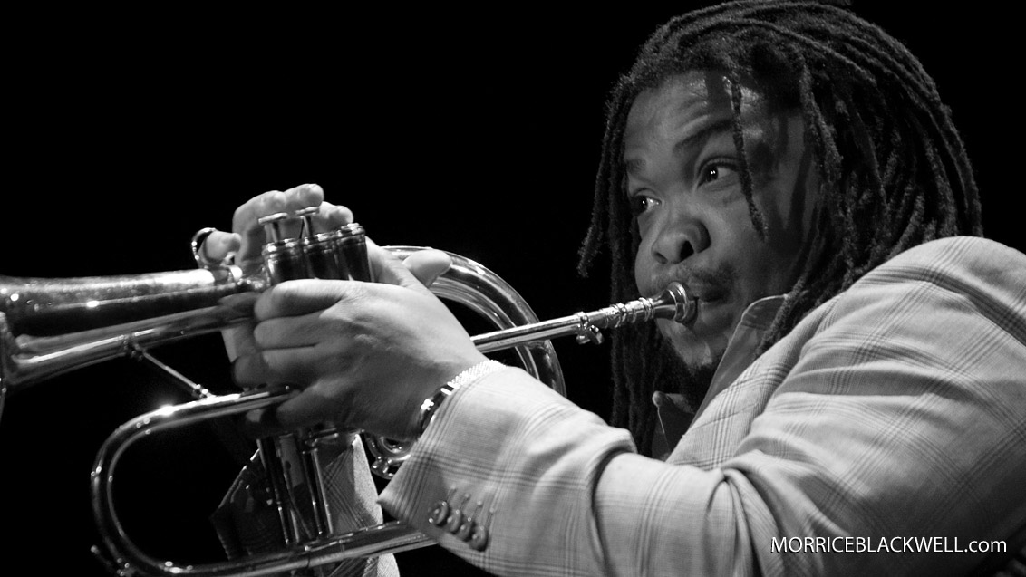 Maurice Brown - Frank Morgan Quartet - 2007 - Milwaukee, Wisconsin